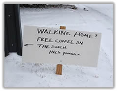 Free Coffee: A Sign of Civilization